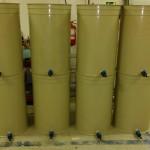 paraffinolajos úszófedeles bortartály