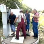 szennyvíztartály burkolása szakemberekkel