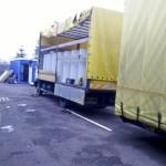 Szennyvíztartály szállítása