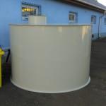 6 m3 álló hengeres esővíz tartály